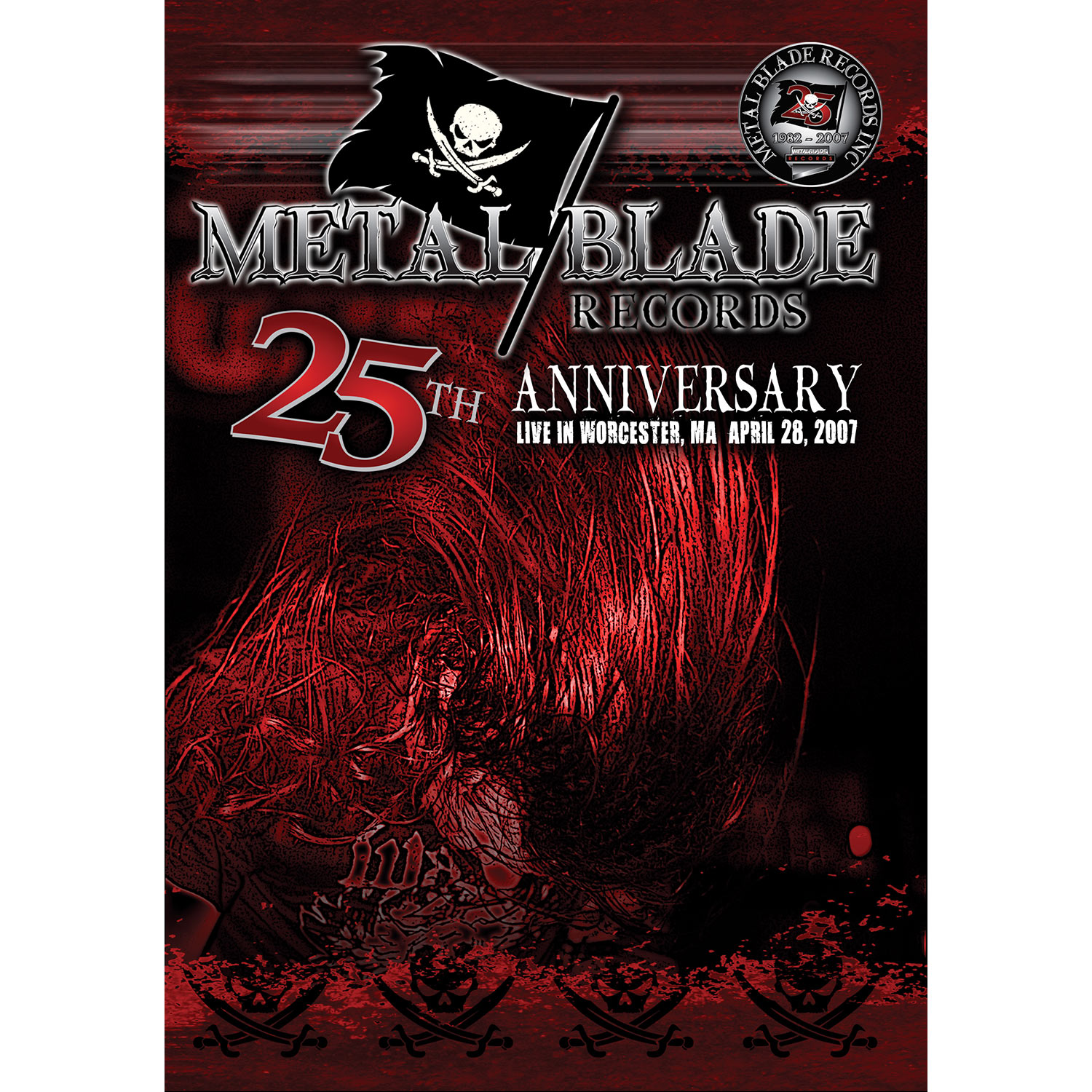 METAL BLADE RECORDS 25th