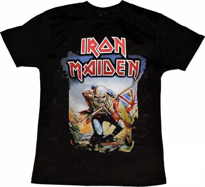 Iron Maiden Trooper front