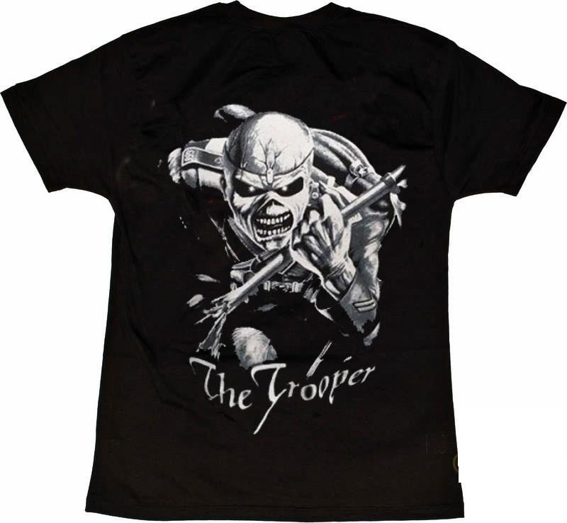 Iron Maiden Trooper tyl