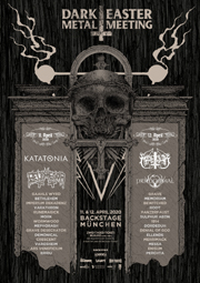 Dark Easter Metal Meeting 2020 Plakat